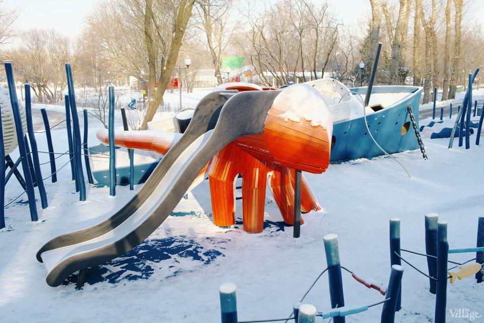 Фоторепортаж: Детская площадка Monstrum впарке Горького. Изображение № 20.