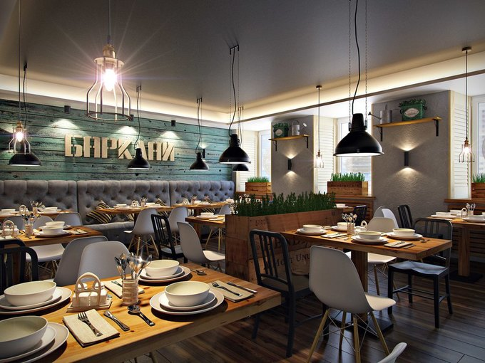 На Моховой открылся кафе-бар «Барклай» . Изображение № 1.