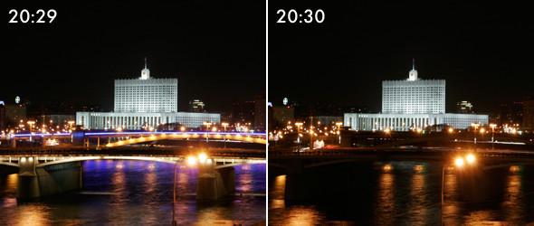 Тушите свет: Как Москва провела «Час Земли». Изображение № 5.