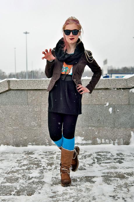 Люди в городе: Посетители концерта Lady Gaga в Москве и Петербурге. Изображение №24.