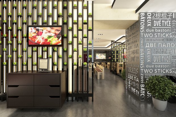 Ресторан «Две палочки» в американском стиле откроют на «Проспекте Ветеранов». Изображение № 4.