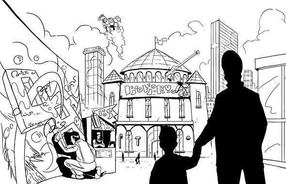 Как в сказке: Детские писатели-фантасты о городах будущего. Изображение № 13.