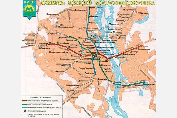Четвёртая линия: Все проекты метро на Троещину. Зображення № 7.