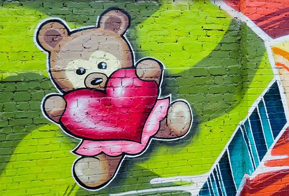 В Киеве появились граффити рекордных размеров. Изображение № 13.
