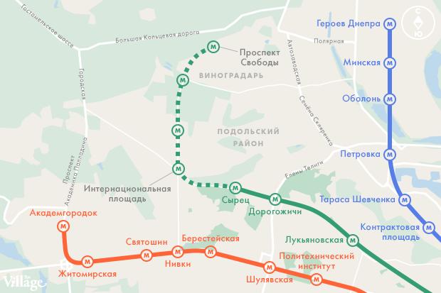 В Киеве собираются строить метро на Виноградарь. Зображення № 7.