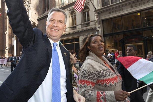 Клуб мэров: Билл де Блазио, Нью-Йорк. Изображение № 12.
