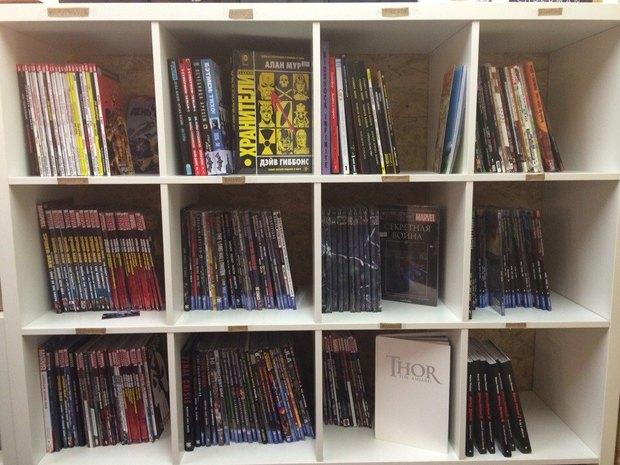 В«Этажах» открылся магазин комиксов. Изображение № 2.