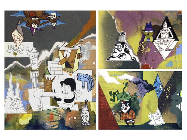 Герб Москвы: Версия граффити-художника Nootk. Изображение № 8.