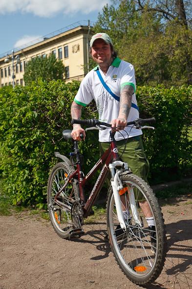 Участники пробега Let's bike it! о велодорожках. Изображение № 4.