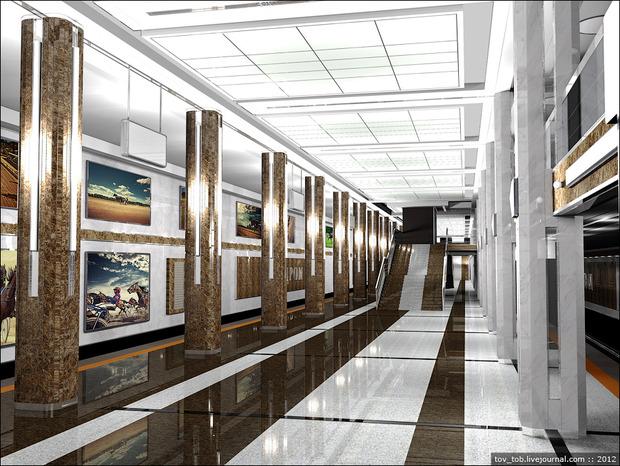 Станцию метро «Ипподром» откроют 25 октября. Зображення № 3.