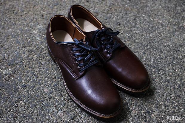Ботинки Red Wing Shoes Beckhman — Oxford — 14 990 рублей. Изображение № 22.