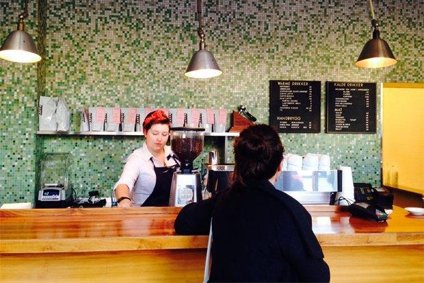 Где пить кофе вОсло. Изображение № 16.
