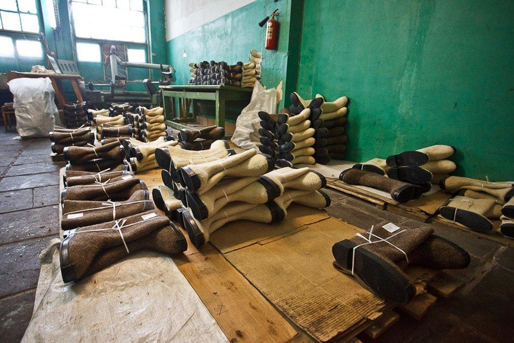 Производственный процесс: Как делают валенки. Изображение № 24.