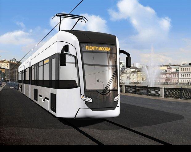 «Уралвагонзавод» показал новые поезда московского метро и трамваи. Изображение № 1.