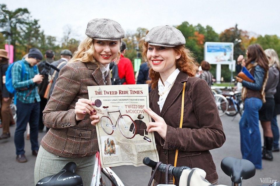 С твидом на город: Участники велопробега Tweed Ride о ретро-вещах. Изображение № 3.