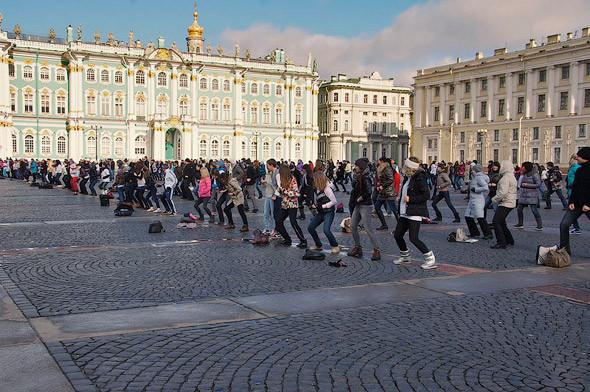 С конца апреля в Киеве начнут проводить зарядки под открытым небом. Зображення № 2.
