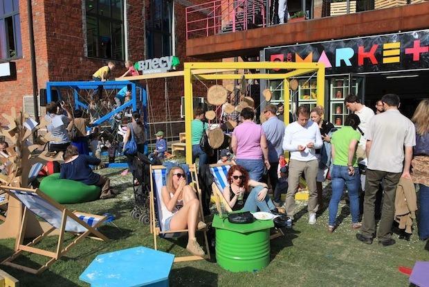 Площадка микрогорода на фестивале Seasons. Изображение №46.