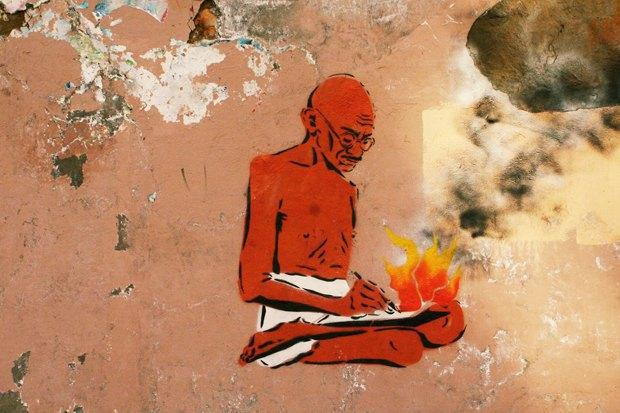 Cтрит-арт-художники Gandhi о мемориальных досках для простых горожан. Изображение № 12.