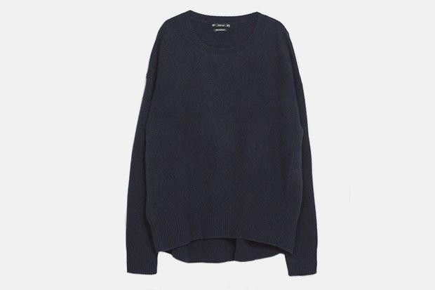 Самый дорогой и самый дешёвый свитер в магазине Zara. Изображение № 2.