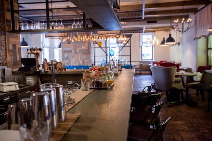 Владельцы ресторана «Мюсли» открыли новое заведение «Утки и вафли». Изображение № 3.