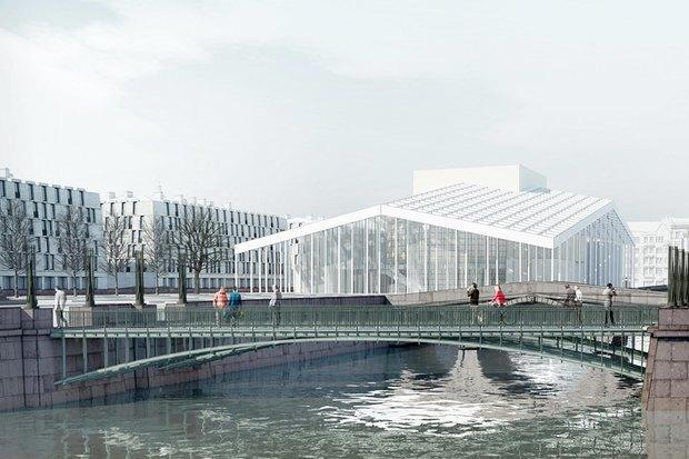 Суд идёт: четыре проекта квартала на месте «Набережной Европы». Изображение № 22.