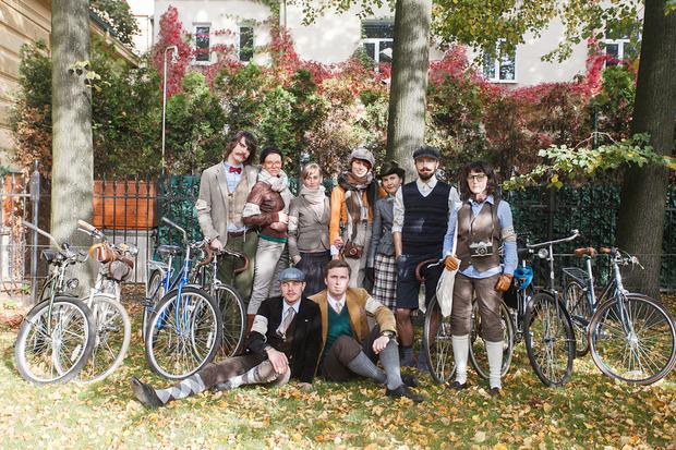 В «Сокольниках» пройдет ретро-велопробег Tweed Ride. Изображение № 4.