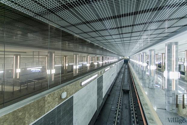 Вид со второго яруса станции. Изображение № 18.