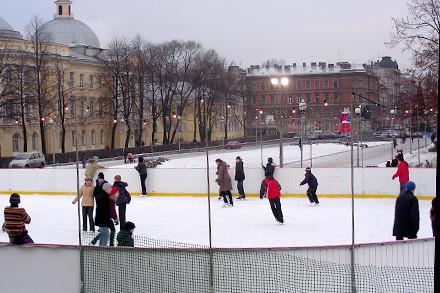 Ниже нуля: 9 открытых катков в Петербурге. Изображение № 1.