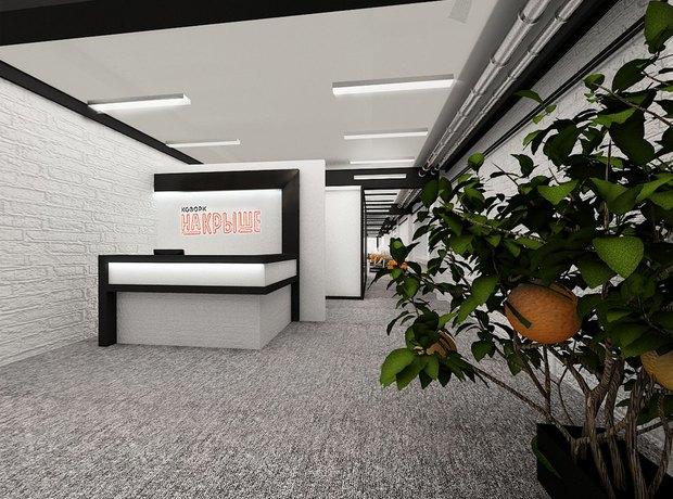 На «Савёловской» открывается пространство «Коворк на крыше». Изображение № 2.