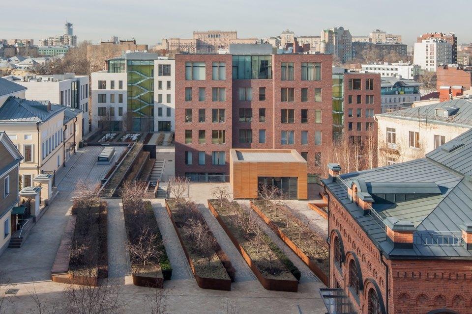 Нелужковский стиль: 5 удачных современных зданий вцентре Москвы. Изображение № 29.