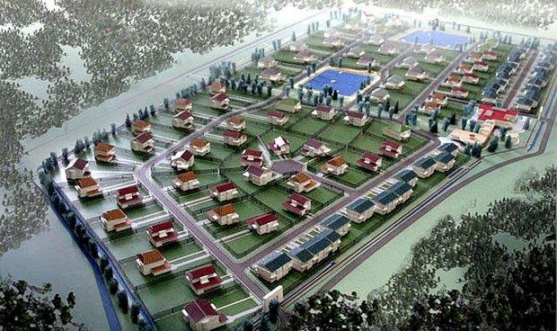 Проект коттеджного посёлка на месте Баболовского парка. Изображение № 3.