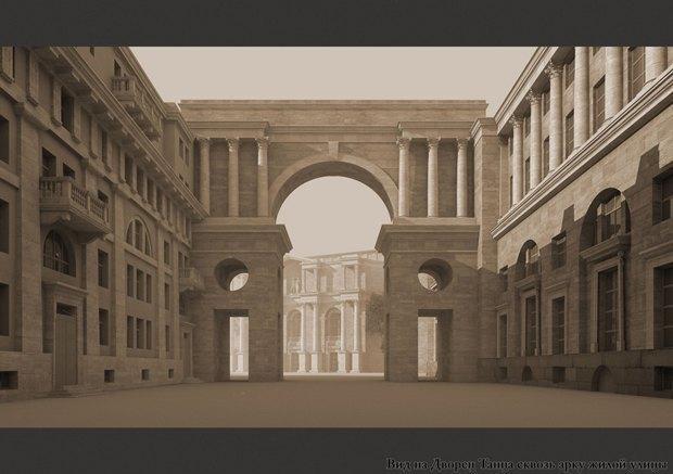 Проект квартала авторства «Архитектурной мастерской Максима Атаянца». Изображение № 1.