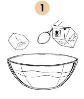 Рецепты шефов: Русские блины с припёком. Изображение № 4.