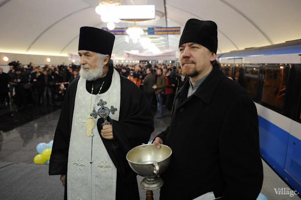 Фоторепортаж: В Киеве открылась новая станция метро. Зображення № 13.