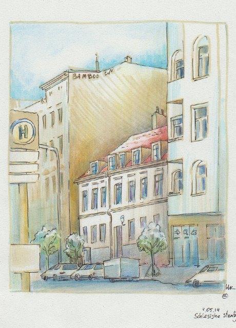Мастер-класс городского наброска в Берлине. Изображение № 10.