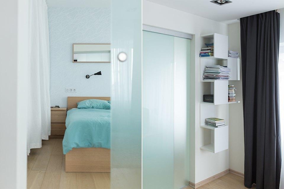 Квартира для большой семьи сминималистским интерьером. Изображение № 9.