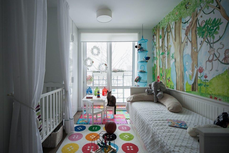 Трёхкомнатная квартира вскандинавском стиле наберегуозера . Изображение № 12.