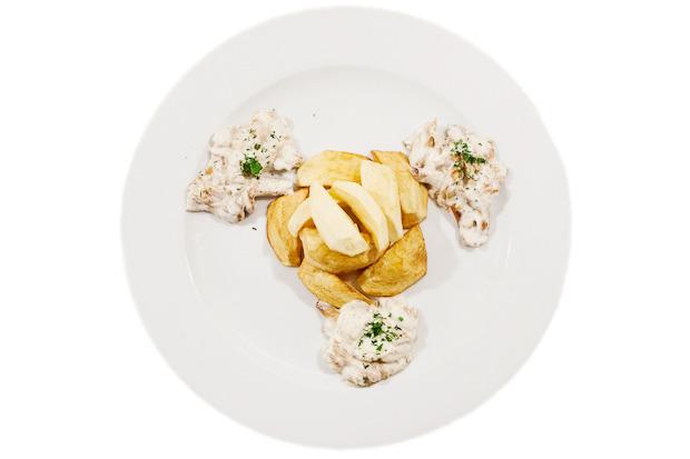 Сезонное меню: Блюда с лисичками в ресторанах Петербурга. Изображение №13.