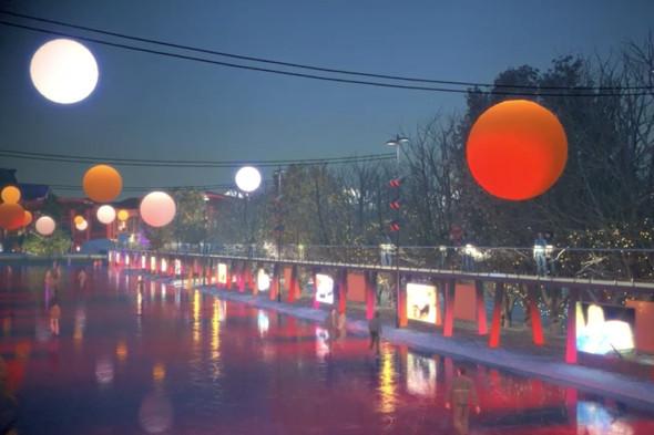 В парке Горького начали строить самый большой каток в Москве. Изображение № 13.