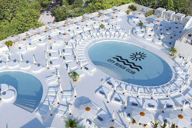 На крыше парковки Ocean Plaza откроют пляжный клуб с бассейнами и барами. Зображення № 2.