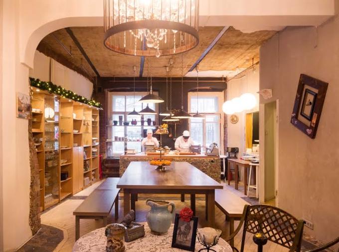 Фото предоставлены кафе «Есть хинкали & Пить вино». Изображение № 2.