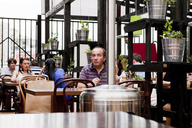 На «Павелецкой» открылость кафе «Хачапури». Изображение № 23.