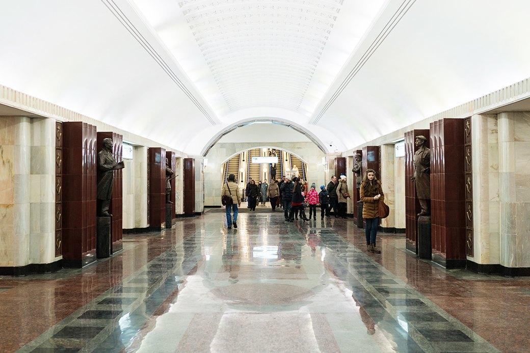 Обновлённая станция метро «Бауманская». Изображение № 13.