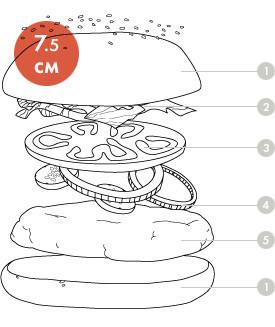 Между булок: что внутри у самых больших московских бургеров, часть 1. Изображение № 9.