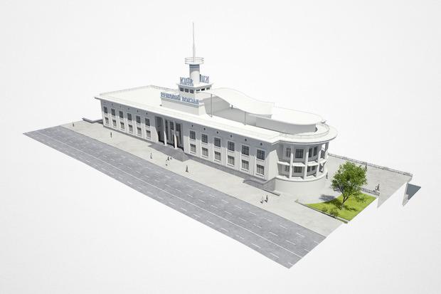 Реконструкция: Как будет выглядеть Речной вокзал. Изображение № 2.