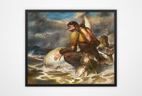 В Киеве пройдёт выставка чешского сюрреалиста Виктора Сафонкина. Зображення № 3.