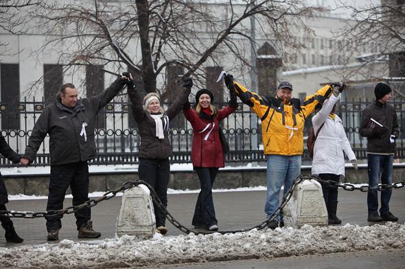 Близкое окружение: Участники акции «Белый круг» о проблемах Москвы. Изображение № 14.