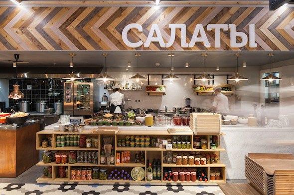 В «Галерее» открылся ресторан самообслуживания MarketPlace . Изображение № 6.