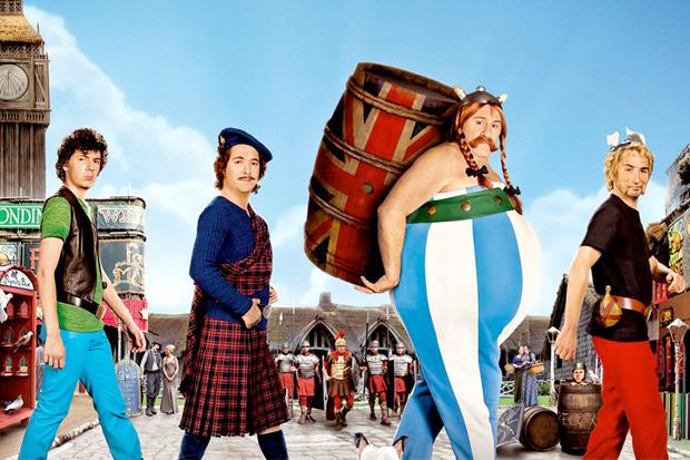 «Астерикс и Обеликс в Британии 3D», про то, как постоянные герои французского киносериала Британию от Цезаря спасали. Изображение № 1.