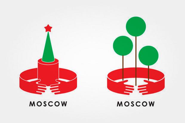 Пять идей для логотипа Москвы. Изображение № 56.